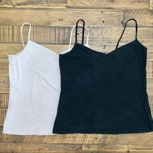 Old navy black and pink tank top set